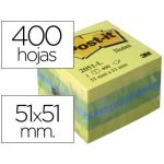 3M Bloco Post-It 2051-L 51x51mm 400 Fls Lemon