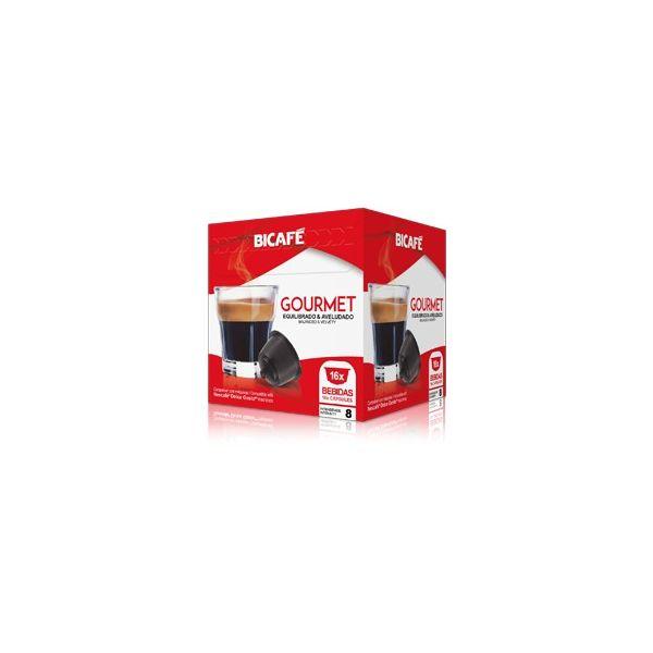 Bicafé Café Gourmet Compatível Dolce Gusto - 16 Cápsulas