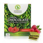 Moringa Caribbean Green Chocolate Raspberry 70g