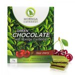 Moringa Caribbean Green Chocolate Sour Cherry 70g