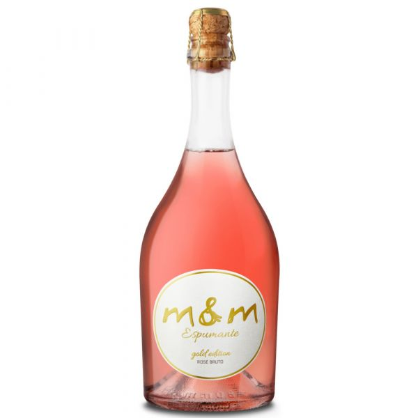 M&M Espumante Gold Edition Bruto Rose 75cl