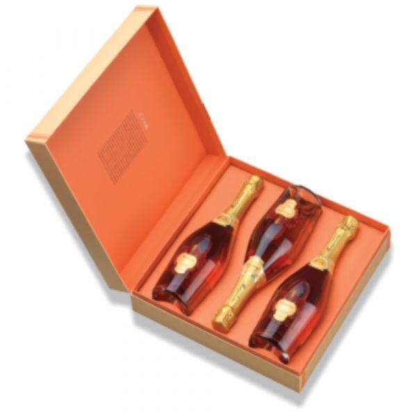 Murganheira Pack 3 Espumantes Czar Rosé Bruto 75cl