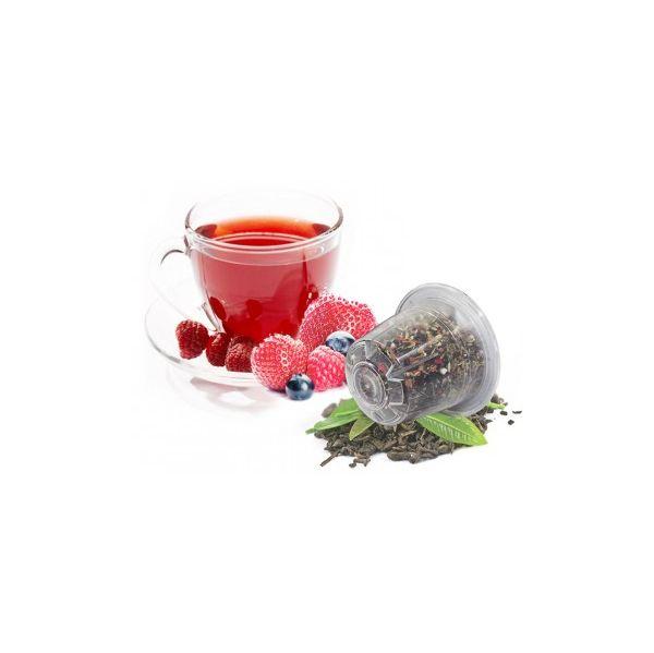 Caffè Bonini Chá Frutos do Bosque Compatível Nespresso - 10 Cápsulas