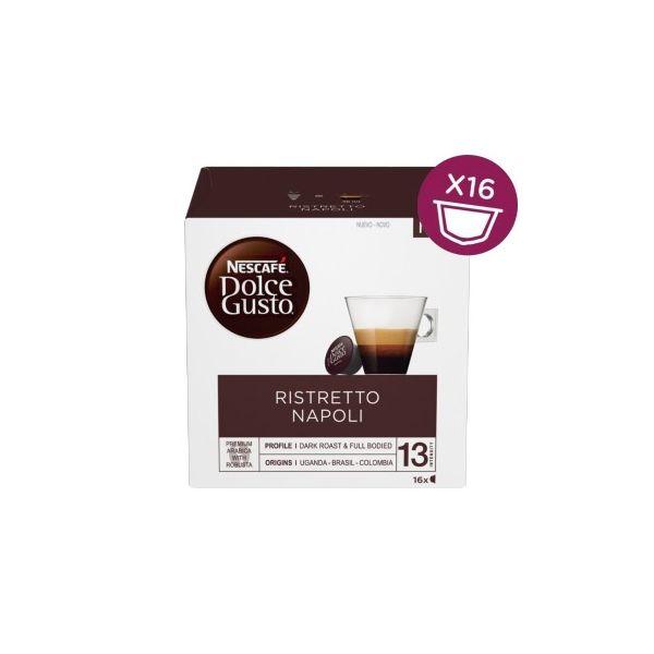 Nescafé Dolce Gusto Espresso Ristretto Napoli - 16 Cápsulas