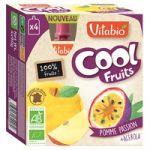 Vitabio Pacotinho Cool Fruits Maçã, Maracujá e Acerola Bio 90g