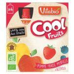 Vitabio Pacotinho Cool Fruits Maçã, Morango, Mirtilo e Acerola Bio 90g