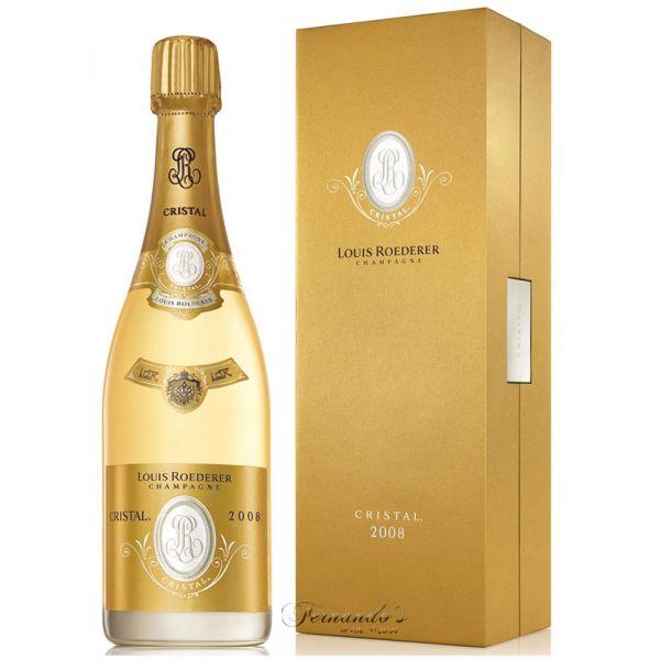 Louis Roederer Champagne Cristal Brut 2008 Branco 75cl