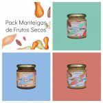 Going Nuts Pack Manteigas de Frutos Secos