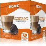 Bicafé Café Cortado Compatível Dolce Gusto - 16 Cápsulas