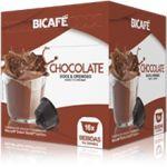 Bicafé Chocolate Compatível Dolce Gusto - 16 Cápsulas