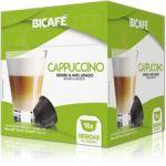 Bicafé Café Cappuccino Compatível Dolce Gusto - 16 Cápsulas