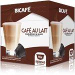 Bicafé Café Café au Lait Compatível Dolce Gusto - 16 Cápsulas