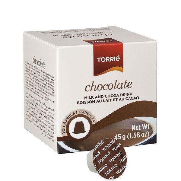 Torrié Chocolate Compatível Nespresso - 10 Cápsulas