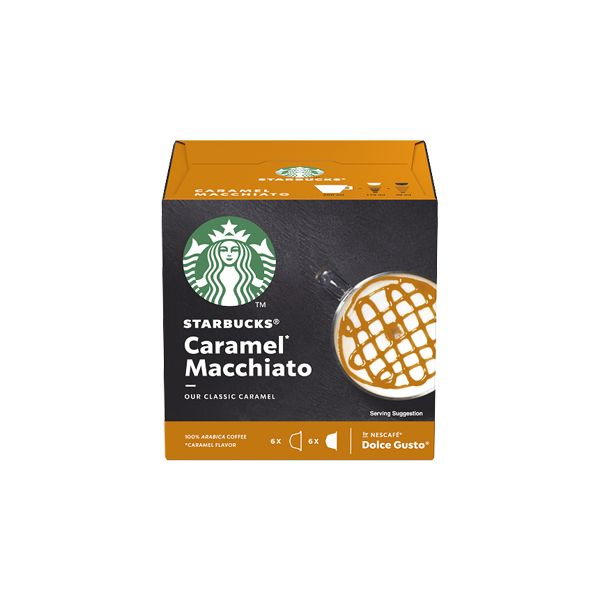 Nescafé Dolce Gusto Starbucks Caramel Macchiato - 12 Cápsulas