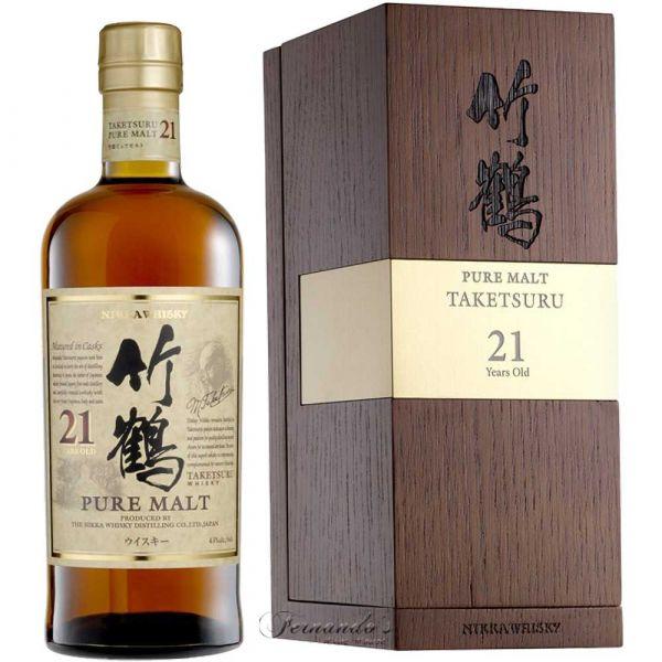 Nikka Whisky Taketsuru 21 Anos 70cl