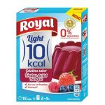 Royal Gelatina Frutos Bosque 10 Kcal Light 31g