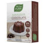 All Pura Pudim Flan Chocolate 2 Saquetas