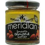 Meridian Foods Manteiga de Amêndoa Suave com Sal 170g