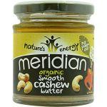 Meridian Foods Manteiga de Caju Organica Suave 170g