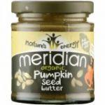 Meridian Foods Manteiga de Sementes de Abóbora Organica 6x170g