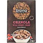 Biona Organic Granola Orgânica com Frutos Vermelhos 375g