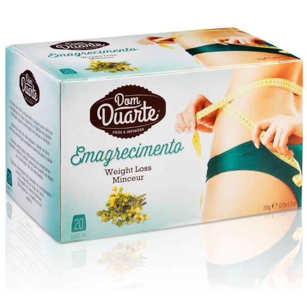 Dom Duarte Chá Emagrecimento 20 Saquetas