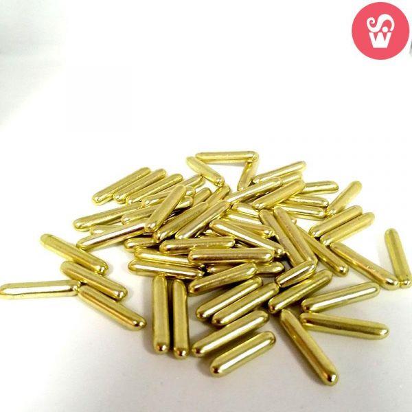 Whirlsensations Barrinhas Metalizadas Ouro 75g.