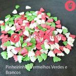 Whirlsensations Pinheirinhos Vermelhos, Verdes e Brancos 55g.