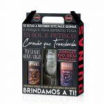 Cerveja QUINAS Pack de 2 Cervejas Tripeira 50cl + Guerreira 50cl + Copo 33cl