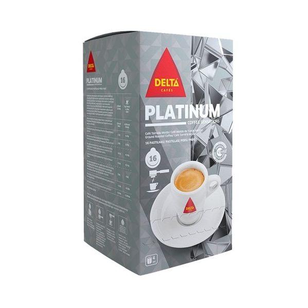 Delta Café Platinum 16 Pastilhas