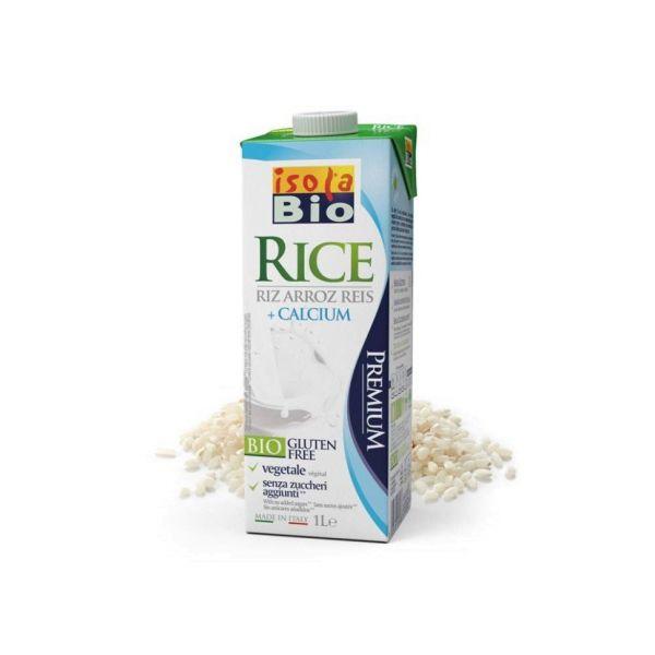 Isola Bio Bebida de Arroz com Cálcio 1L