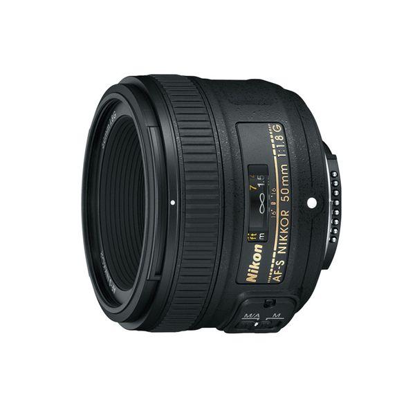 Objetiva Nikon 50mm F1.8 G AF-S