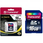 Transcend 16GB SDHC Class 10 - TS16GSDHC10