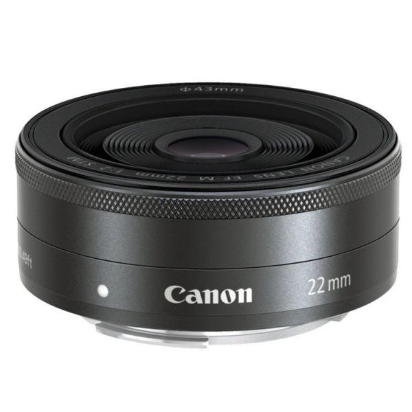 Objetiva Canon EF-M 22mm F/2,0 STM