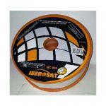 Iberosat Microcabo Coaxial MC025 White - Bobine Plástica de 100m