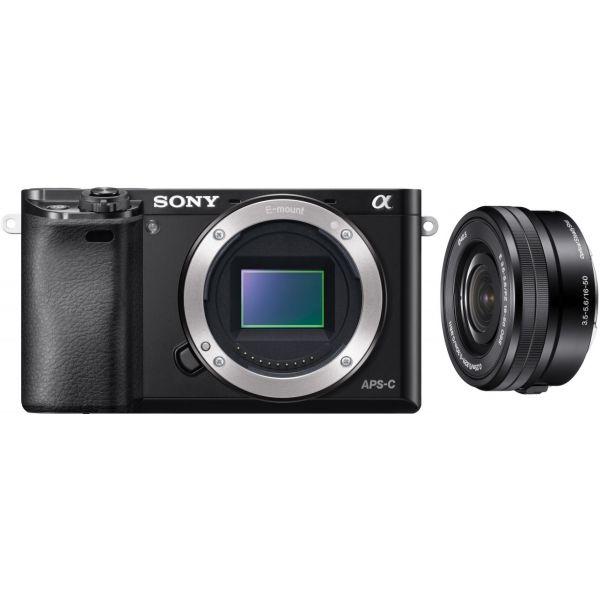 Sony Alpha 6000 Black + 16-50mm f/3.5-5.6 OSS