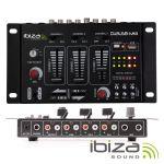 Ibiza Sound DJ21USB-MKII Mesa Mistura 4 Canais e 7 Entradas