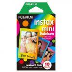 Fujifilm Carga Instax Mini Rainbow - 10 Unidades