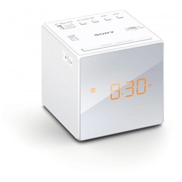 06c24b3cd34 Sony ICF-C1W White - KuantoKusta
