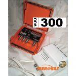 Iberosat Kit Amplificador Mastro VUU-300 + Alimentador ALM300 - KVUU300