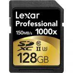 Lexar 128GB SDXC Professional UHS-II 1000x - LSD128CRBEU1000
