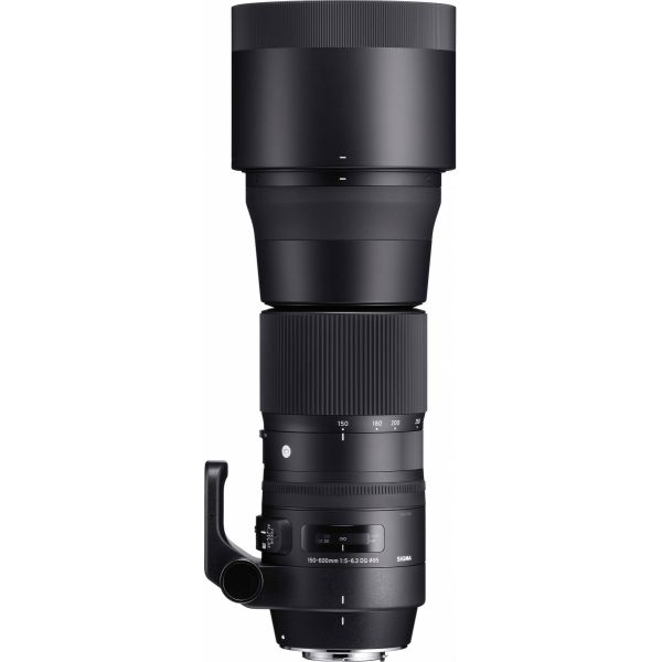 Objetiva Sigma 150-600mm f/5-6.3 DG OS HSM Contemporary para Canon