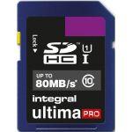 Integral 8GB SDHC UltimaPro 80MB/s Classe 10 - INSDH8G1080