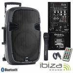 Ibiza Sound Sistema PA Hybrid 10VHF-BT