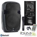 Ibiza Sound Sistema PA Hybrid 8VHF-BT