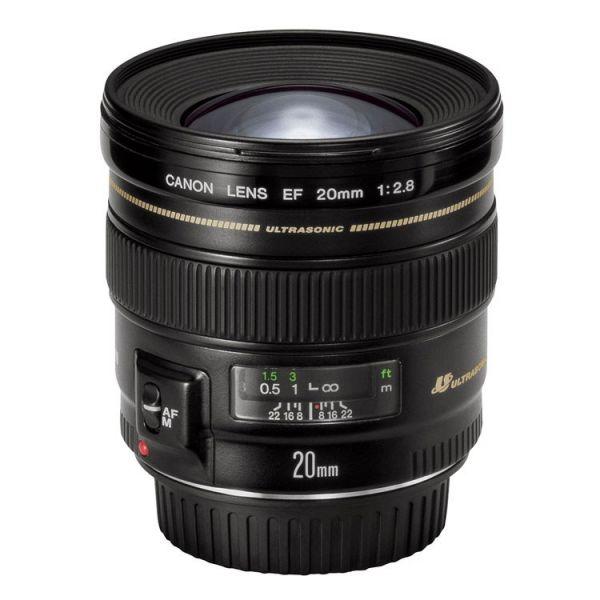 Objetiva Canon EF 20mm f/2.8 USM