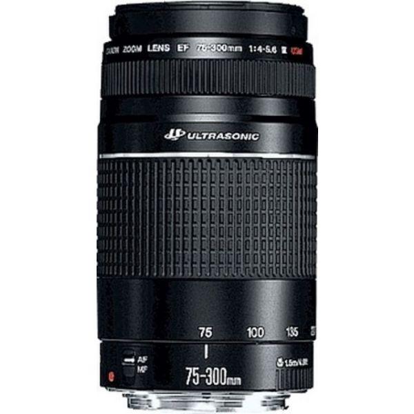 Objetiva Canon EF 75-300mm f/4-5.6 III USM