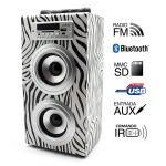 Biwond Joybox Bluetooth Zebra