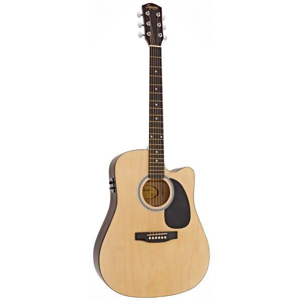 Fender Squier SA-105CE Natural