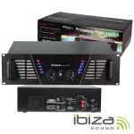 """Ibiza Amplificador Áudio 19"""" 2X1500W - AMP2000(I)"""